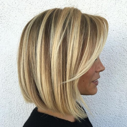 Chunky Blonde Highlights