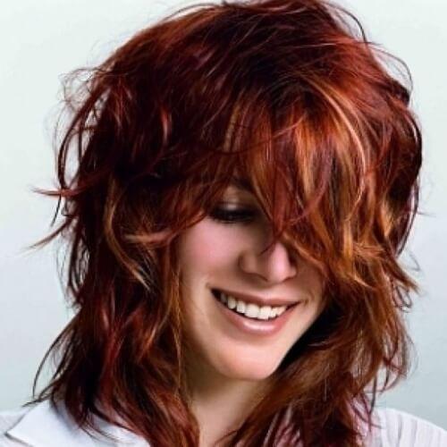 Fiery Hairstyles