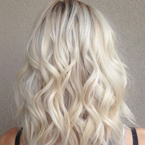Light Blonde Hairstyles