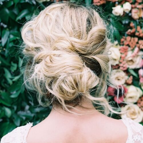 "Messy Wedding Hairstyles: 50 Luxurious Wedding Updos For The Perfect ""I Do"""