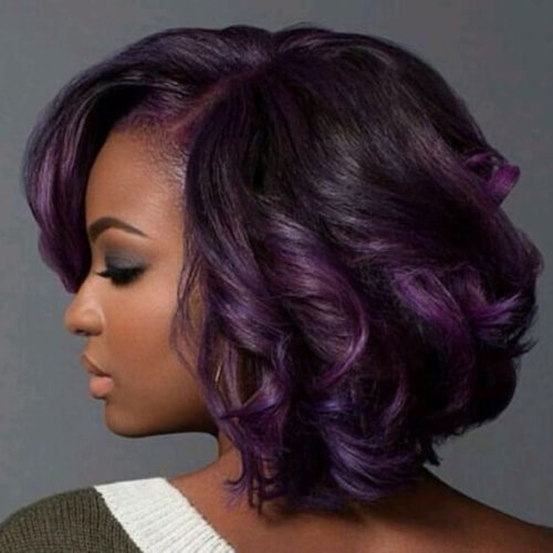 Ombre Bob Hairstyles for Black Women