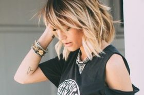 Ombre Shag Hairstyles