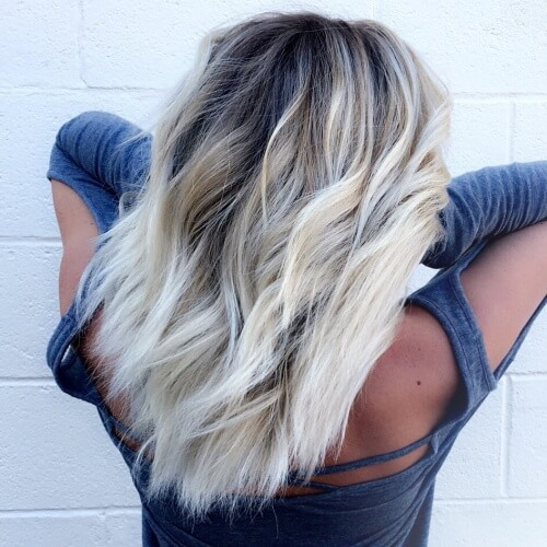 Platinum Blonde Hairstyles