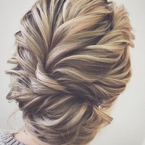 Textured Bridal Hairstyles