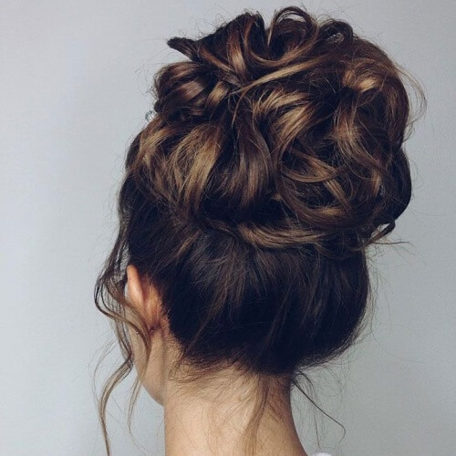 Wedding Updos for Medium Hair