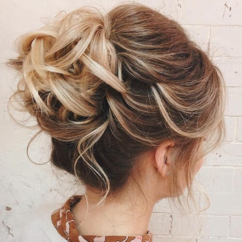 Wedding Updos for Thin Hair