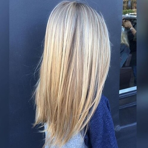 Wispy Blonde Highlights