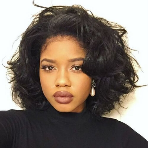 ob Hairstyles for Black Women with Heart Shape Faces