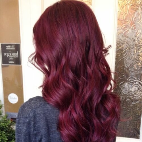 Cherry Plum Hair Color