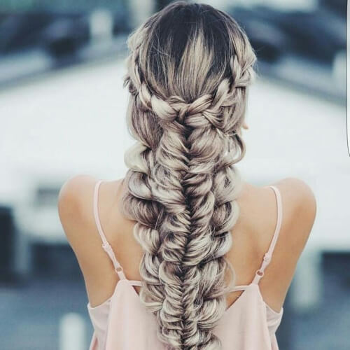 Complex Mermaid Braid