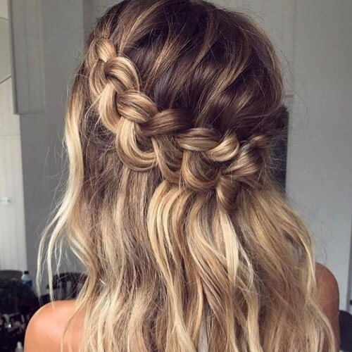 Diagonal Braided Crown