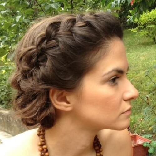 French Braid Crown