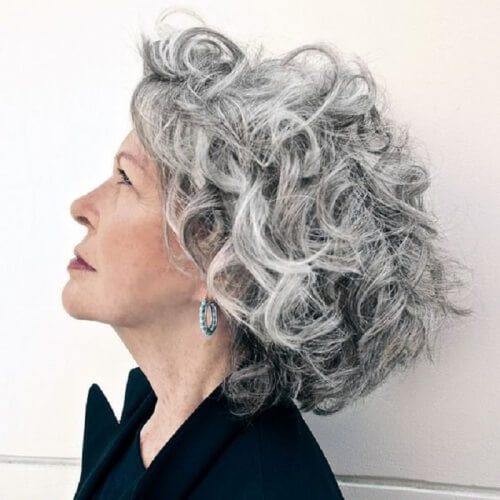Hairstyles for Women over 60 with Gray Hair