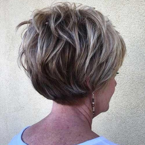 Highlights Hairstyles for Women over 60