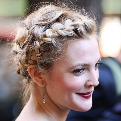 Knotted Braid Crown