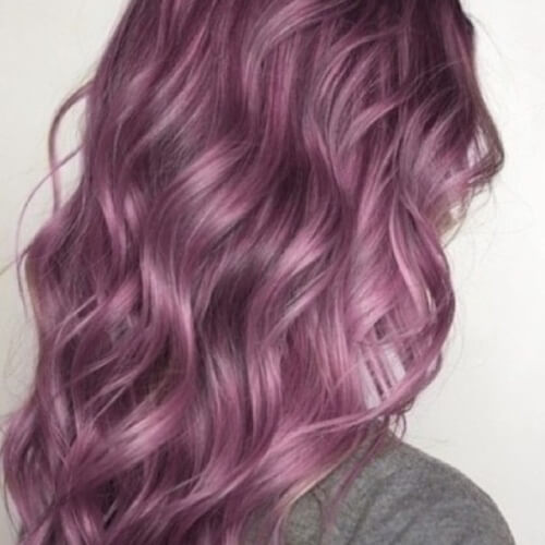 Light Plum Hair Color