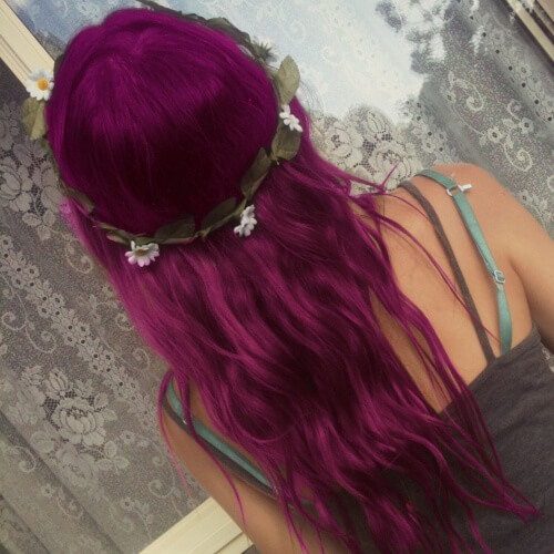 Magenta Plum Hair Color