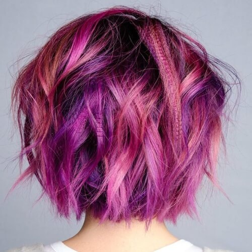 Pink and Purple Blend