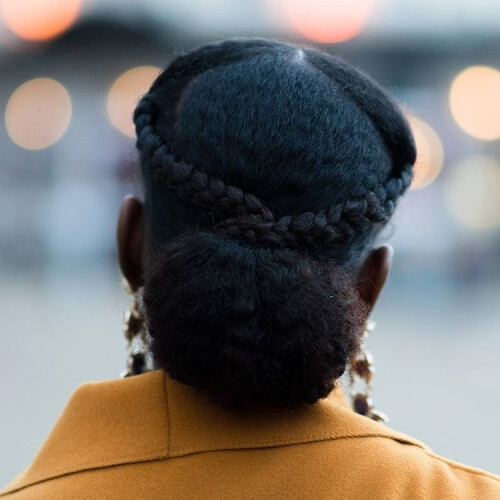 Protective Braided Crown