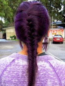 Purple Braid