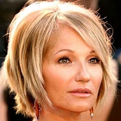 Short Hairstyles for Women over 40q