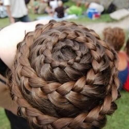 Spiral Lace Braid