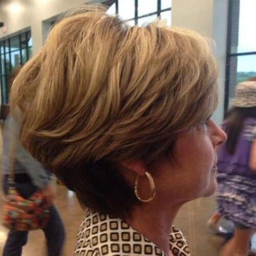 Tapered Hairstyles for Women over 60