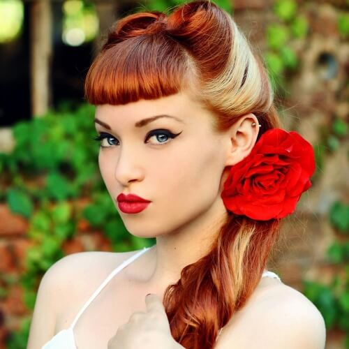 50 Pin Up Hairstyles for Retro Glam | Hair Motive Hair Motive