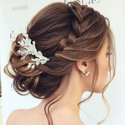 Braid Crown Chignons