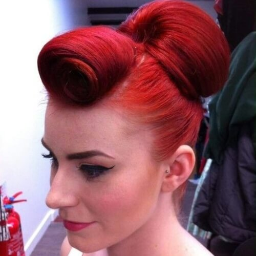 Tap Into That Retro Glam With These 50 Pin Up Hairstyles Hair Motive Hair Motive