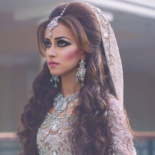 Indian Wedding Hairstyles Pictures: 50 Unforgettable Wedding Hairstyles For Long Hair