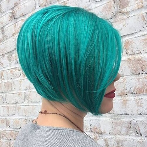 Medium Teal Hair Color