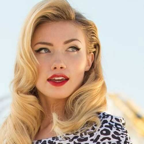 Tap Into That Retro Glam With These 50 Pin Up Hairstyles