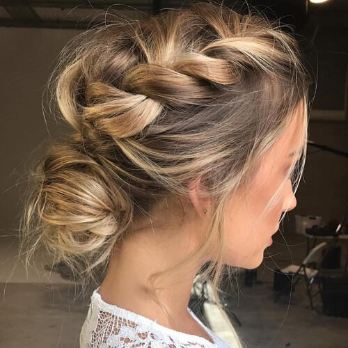 Twisted Chignons