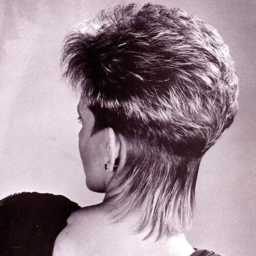80s Wedge Hairstyle