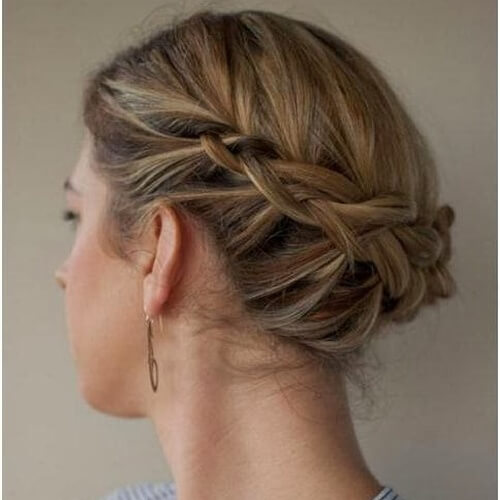 Back Crown Bridal Hairstyles