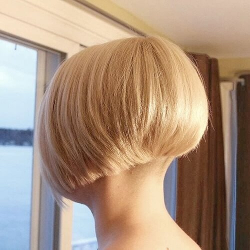 Blunt Wedge Haircut