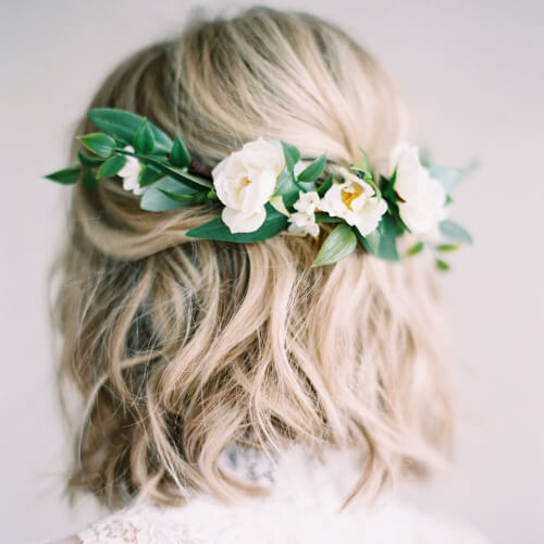 Wedding Hairstyles Boho: 50 Superb Wedding Looks To Try If You Have Short Hair