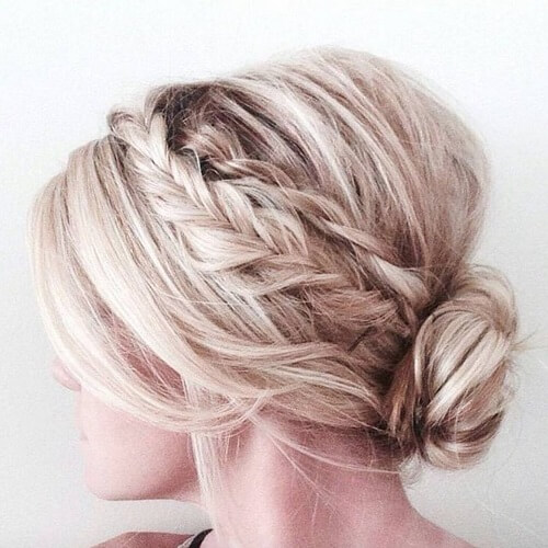 Braid and Chignon Hairstyles
