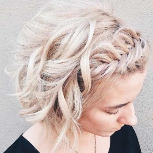 Braided Bangs Hairstyles