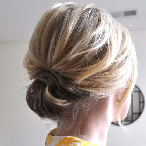 Chignon Prom Hairstyles