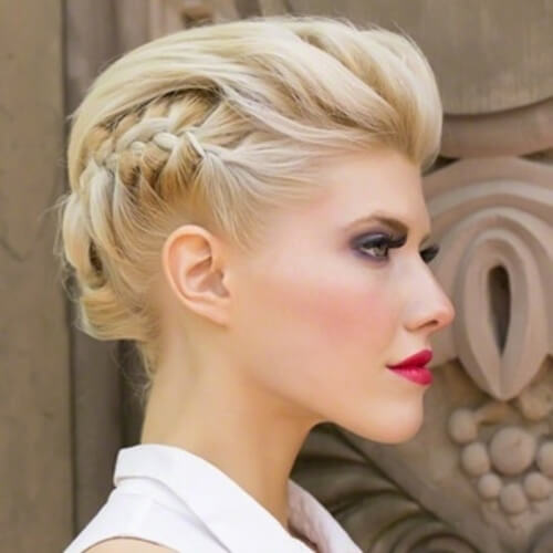 Edgy Wedding Hairstyles for Short Hair
