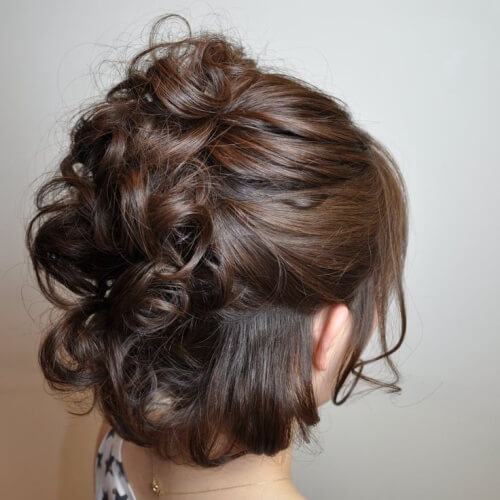 Half Faux Hawk Wedding Hairstyles for Short Hair