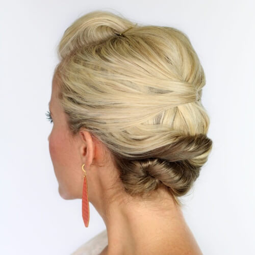 Knotted Prom Hairstyles