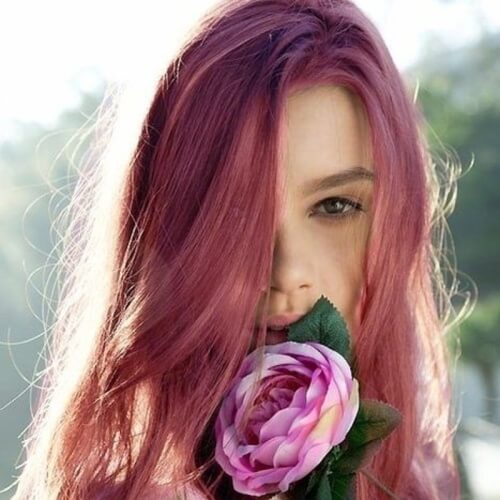 Light Magenta Hair Color