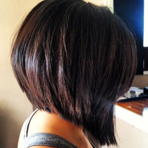 Long Wedge Haircut