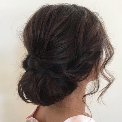 Loose Wedding Hairstyles for Short Hair