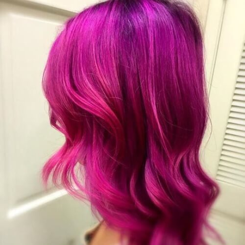 Magenta Orchid Hair