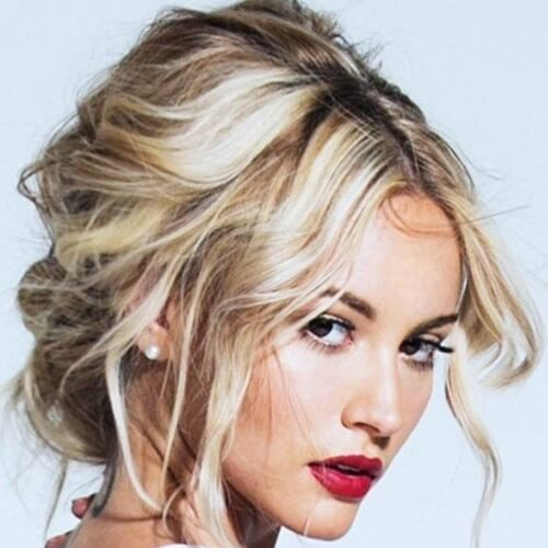Messy Prom Hairstyles for Short Hair