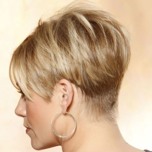 Modern Wedge Hairstyle